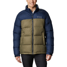 Columbia Pike Lake Jacke Herren stone green/collegiate navy